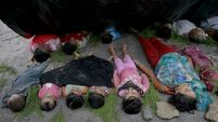 Bodies of 15 children and 11 women recovered after boat carrying fleeing Rohingya sinks
