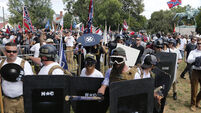 Driver who mowed down anti-fascist protestors marched with white supremacist group in Charlottesville