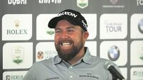 'Daddy daycare' Shane Lowry back on course at the Italian Open