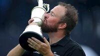 'Huge personal honour' as Shane Lowry named AGW's Golfer of the Year