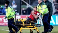 Tadhg Beirne to require surgery on fractured ankle as Munster issue injury update