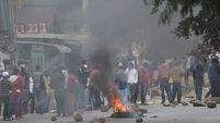 Kenya election protestors claim police firing at them after hacking claims