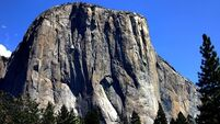 Rockfall 'the size of an apartment building' falls killing a climber on Yosemite's monolith El Capitan