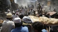 20-day-old boy among 33 killed in Mumbai building collapse