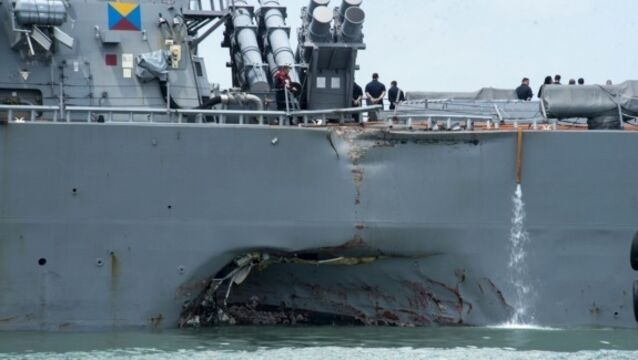 US Navy commanders fired after fatal ship collisions