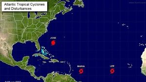 Tropical storm prompts hurricane watch for Caribbean islands battered by Irma