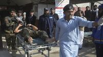 12 killed and 35 wounded in gun attack on Pakistan agriculture institute