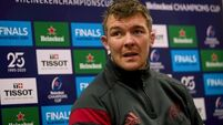 Peter O'Mahony expects Saracens to leave woes at home