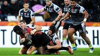 James Hook missed penalties cost Ospreys victory