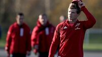 Bleyendaal ruled out for Saracens games as Carbery 'progressing well'