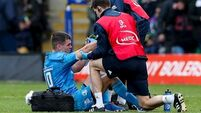 Sexton injury the only blow as Leinster rout Saints