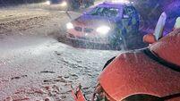 M1 closed and thousands without power as snow and ice hit UK