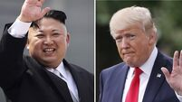 Donald Trump tells North Korea leader nuclear programme is 'putting you in grave danger'