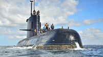 Sounds did not come from missing submarine, says Argentine navy
