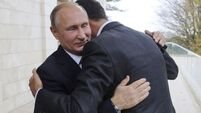 Vladimir Putin signals end to Russian action in Syria in talks with Bashar Assad
