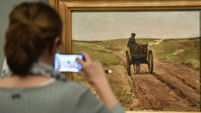 Works of art 'taken during Nazi persecution and hidden for decades' go on display