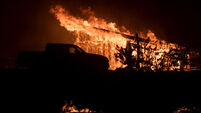 Colossal California wildfire now fourth largest in state's history