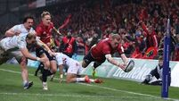 Keith Earls closing on Simon Zebo's Munster try-scoring record