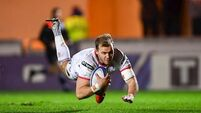 Ulster's Addison back in time for derby against Connacht