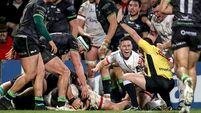 Five-try Ulster thrash Connacht