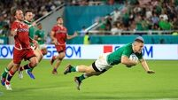 Ireland 35 Russia 0: Game in 60 seconds
