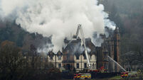 Two dead, three in hospital after fire at luxury Scottish hotel