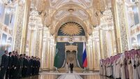 Putin rolls out red carpet for Saudi King