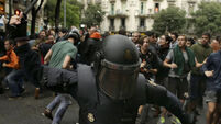 Spanish police showing 'clear motivation to harm citizens' as more than 460 injured in Catalonia