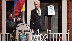 Britain rejects request for diplomatic status for Julian Assange
