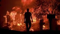 California wildfires reach 100 miles in diameter as death toll reaches 40