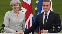 Theresa May and Emmanuel Macron to sign a new treaty on Calais migrants