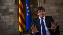 Latest: Spain brands Catalonia's response as inadequate and imposes Thursday deadline