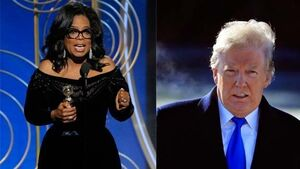 Donald Trump doesn't think Oprah will run for US presidency, but says he would win against her