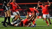 Munster claim bonus point win against poor Ospreys
