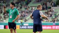 Late change in Ireland squad as Murray replaces Carbery on bench
