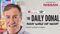 The Daily Donal Vlog: 'If any team can beat New Zealand, it's Ireland'