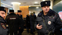 Police visit Moscow cinema showing banned satirical film