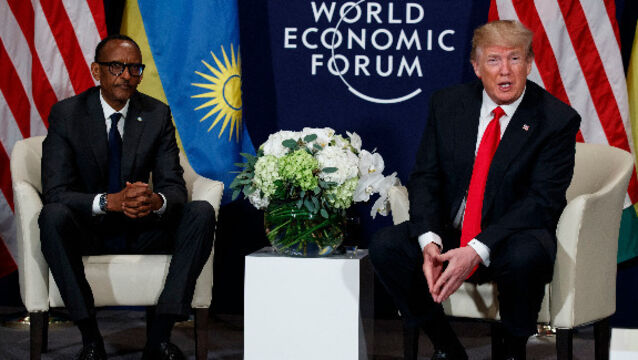 Donald Trump praises African leader to mend relations after White House outburst