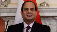 Egyptian president UK visit