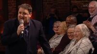 Peter Kay crossed big band with mass hymns on last night's Late Late Show