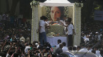 Bollywood great Sridevi mourned by fans in Mumbai
