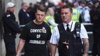 Tommy Robinson freed from jail two months into contempt of court sentence