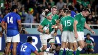 Game in 60 seconds: Ireland 47 Samoa 5