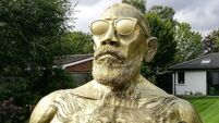Yes, there's a gold statue of Conor McGregor in Clontarf