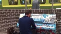 WATCH: They've installed a public piano at Pearse Station