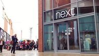 Next enjoys sales rise over Christmas
