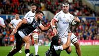 Rob Herring back from Japan to captain Ulster against Zebre