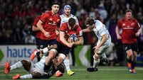 Munster wilt as Racing turn up firepower