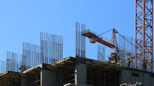 Construction growth at three-year low