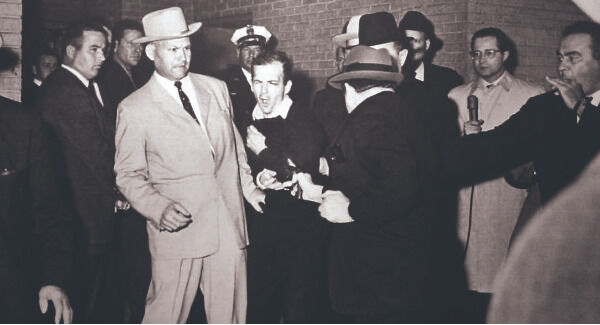 The moment Jack Ruby shot Lee Harvey Oswald